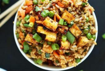 Fried Rice With Tofu