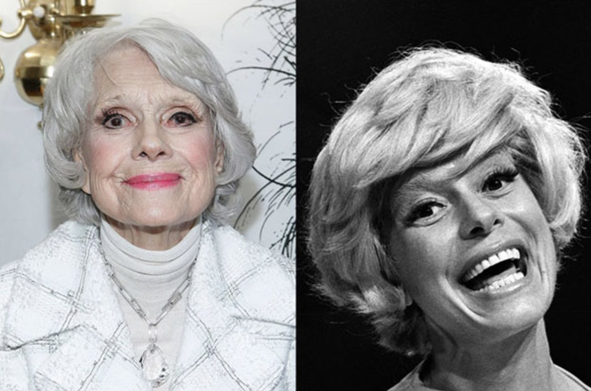 CAROL CHANNING, 97 YEARS OLD