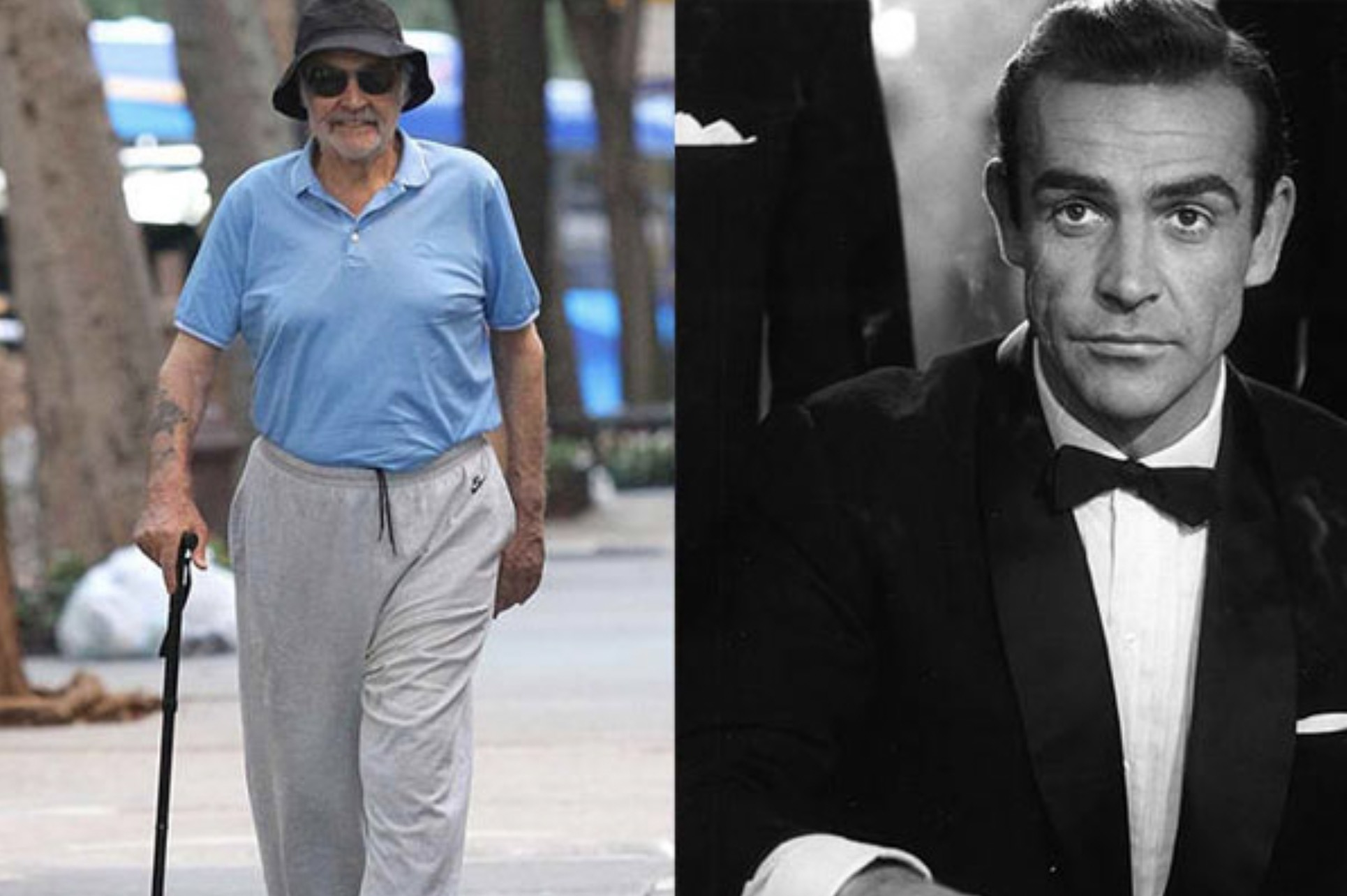 SEAN CONNERY 88 YEARS OLD