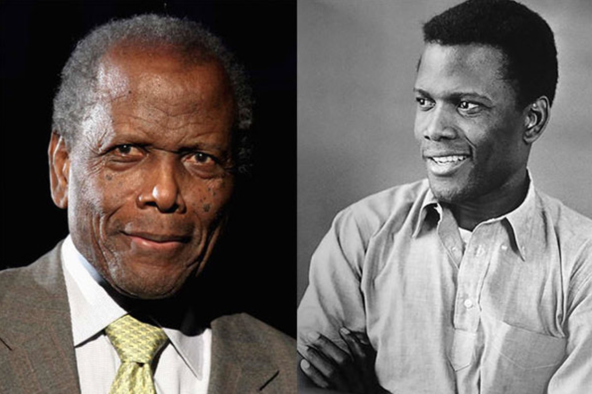 SIDNEY POITIER 91 YEARS OLD