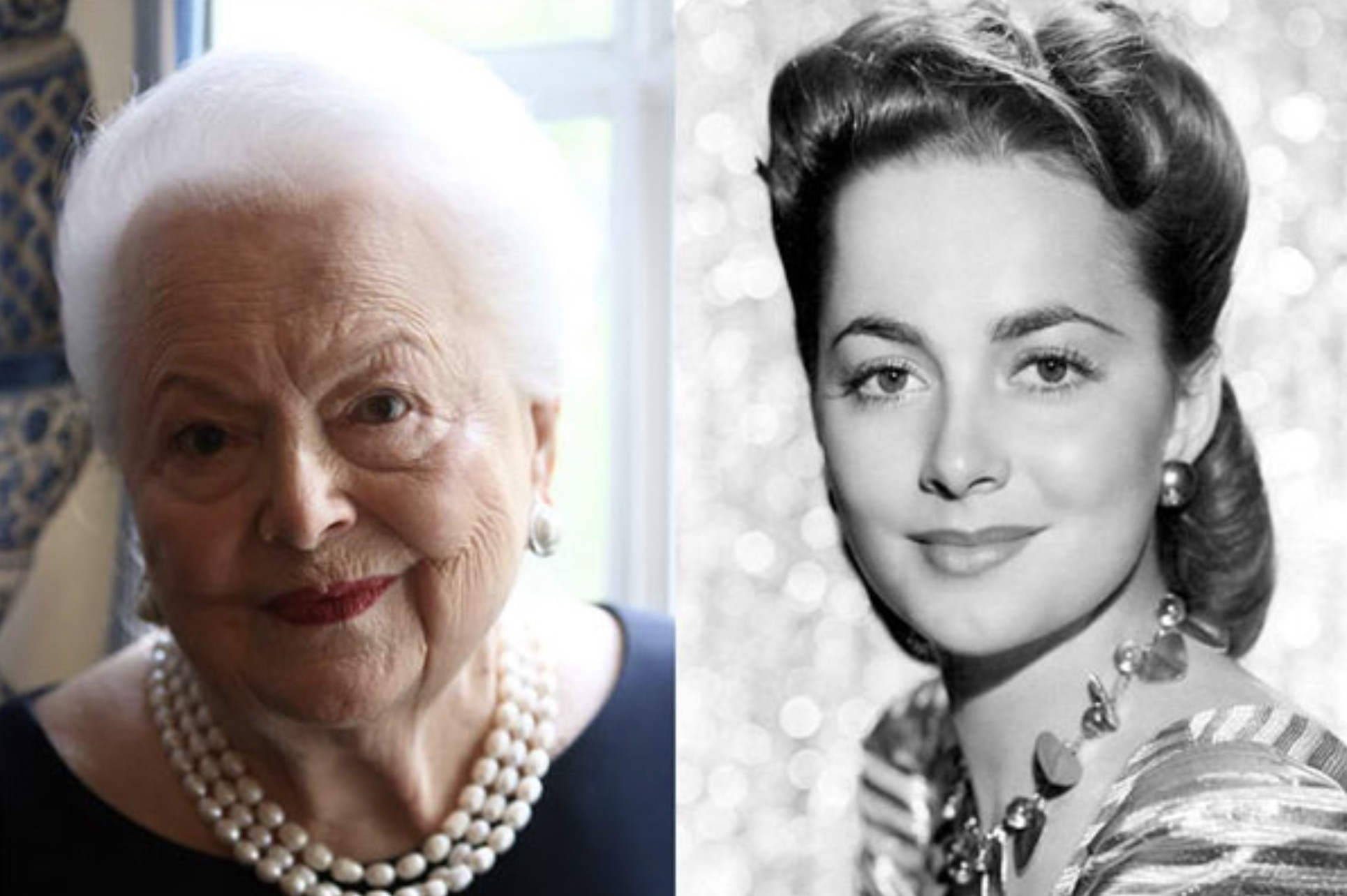OLIVIA DE HAVILLAND 102 YEARS OLD