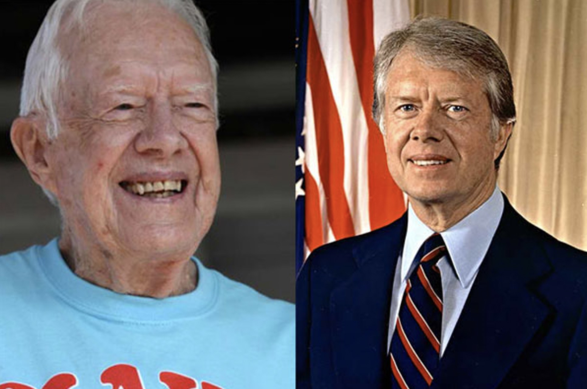 JIMMY CARTER 93 YEARS OLD