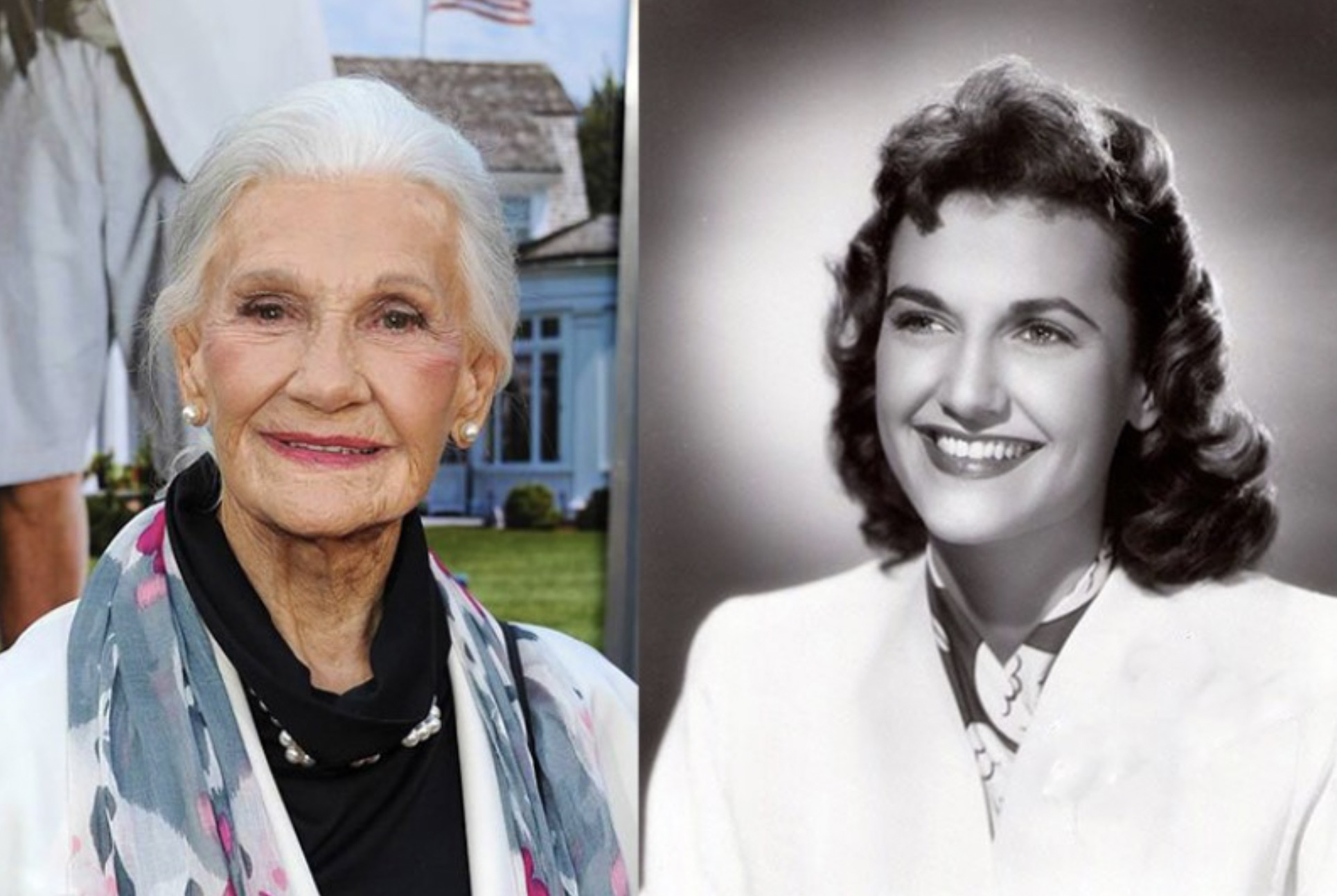 PEGGY STEWART, 94 YEARS OLD