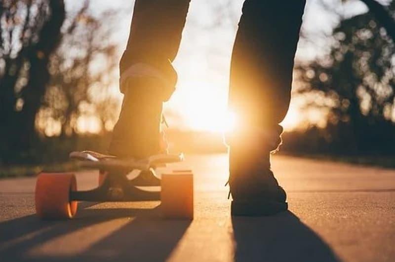 Roller Skating Or Blading