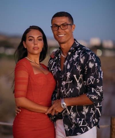 Ronaldo And Georgina Rodriguez