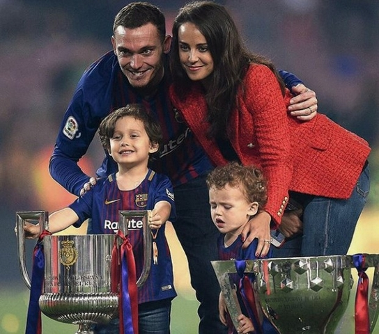 Thomas Vermaelen And Polly Parsons