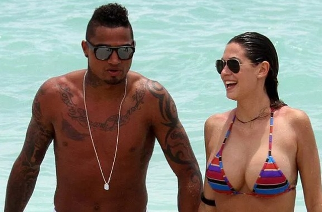 Kevin Prince Boateng And Melissa Satta