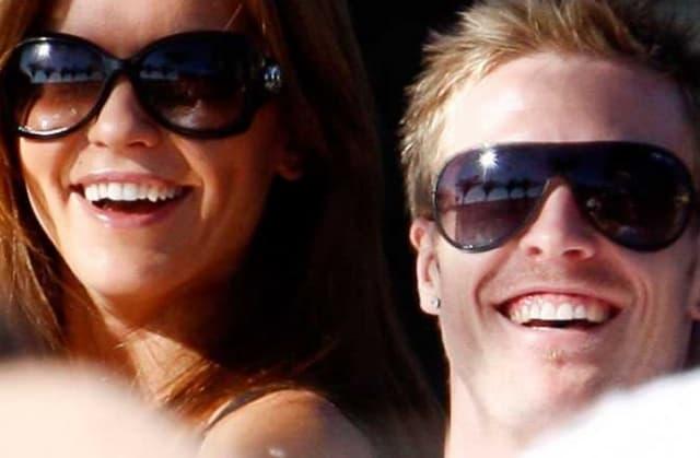 Christian Wilhelmsson And Oksana Andersson