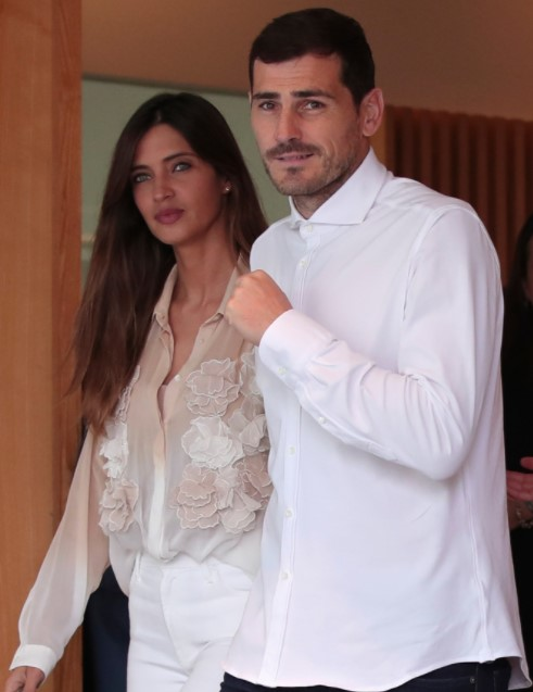 Iker Casillas Und Sara Carbonero