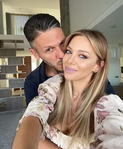 Martin Demichelis And Evangelina Anderson