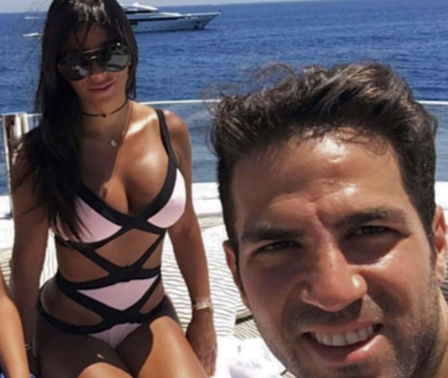 Daniella & Cesc Fàbregas
