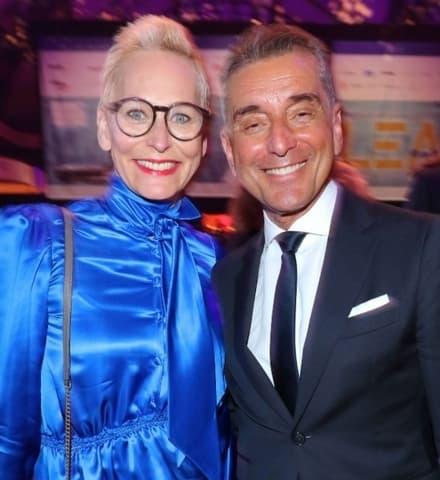 Barbel Schafer Und Michel Friedman
