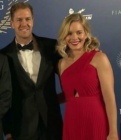 Sebastian Vettel Und Hanna Sprater