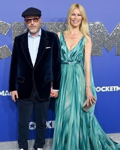 Claudia Schiffer Und Matthew Vaughn